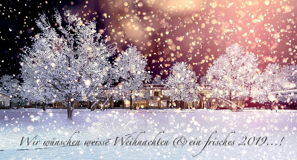 2019 Weiße Weihnachten.Frohe Festtage 4dstudio Architekten